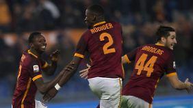 Angekommen bei der Roma: Rüdiger will nicht zum VfB zurück.