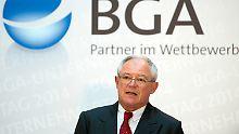 """""""China ist ein Riesen-Risikofaktor"""": BGA-Chef zweifelt an Peking"""