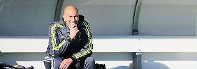 The next Guardiola - oder ein Flop?: Reals Zidane erwartet galaktischer Druck