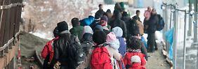 Überlastete Gemeinden: Kommunen fordern begrenzte Zuwanderung