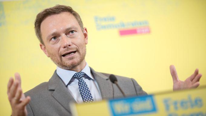Für ein schwarz-gelbes Bündnis würde es für die FDP unter Christian Lindner noch nicht reichen.