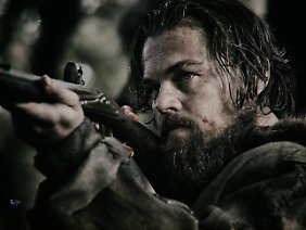 "Vom ""Wolf of Wall Street"" zum Pelzjäger: Leonardo DiCaprio in ""The Revenant""."
