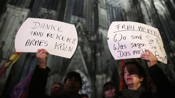 """Hunderte demonstrieren in Köln: Wendt: """"Wenig Hoffnung, dass die Täter verurteilt werden"""""""