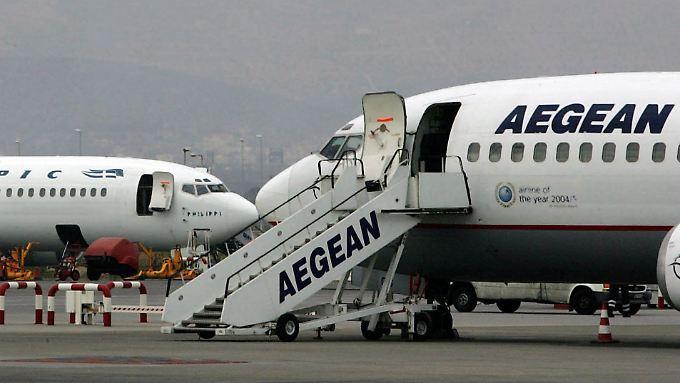Nachdem sie den Aegean-Flug verlassen hatten, konnten die beiden Araber schließlich mit der israelischen El Al nach Tel Aviv fliegen.
