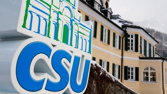 Hier trifft sich die CSU an jedem ersten Mittwoch im Januar: Wildbad Kreuth.