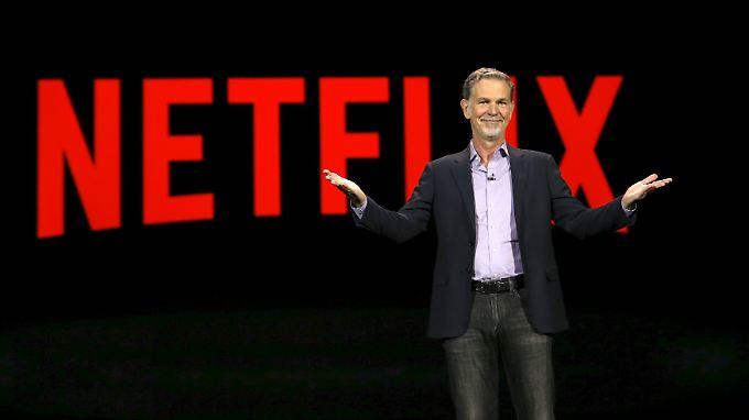Netflix-Gründer und -chef Reed Hastings.