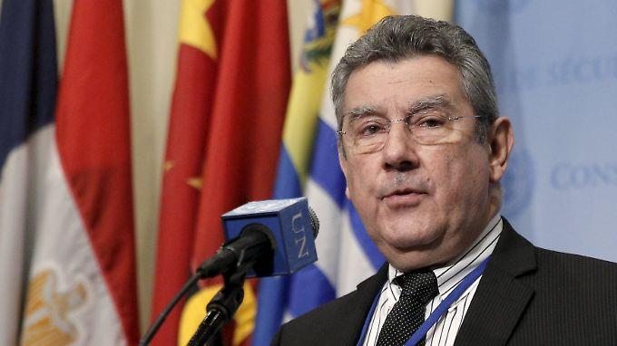 UN-Botschafter Uruguays, das derzeit den Vorsitz im Sicherheitsrat hat, erklärte, dass Nordkorea Resolutionen erwarten muss.