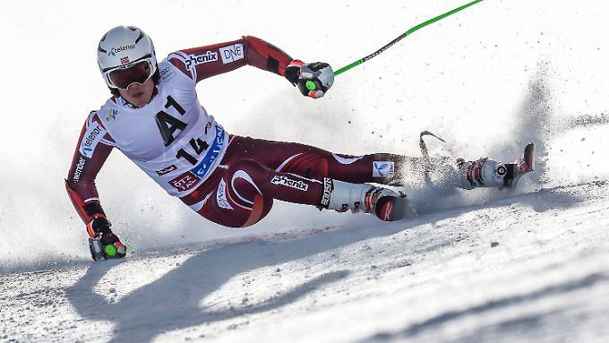 Henrik Kristoffersen in Bestform: Der Norweger dominiert den Slalom derzeit nach Belieben.