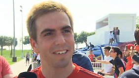 "Philipp Lahm in Doha: Team kommt mit Guardiolas Abgang ""gut klar"""