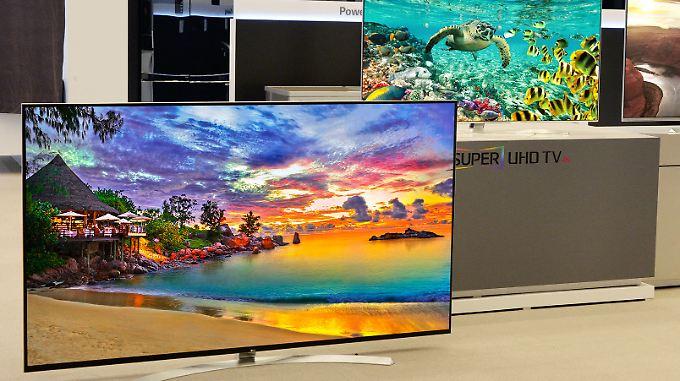 Nach Ultra-HD kommt Super-Ultra-HD: LG zeigt in Las Vegas 8K-Fernseher.