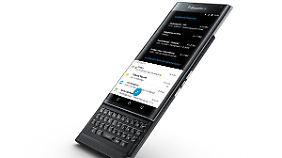 Das Blackberry Priv ist ein Android-Smartphone mit ausziehbarer Tastatur.