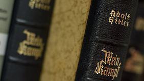 """Unkommentierte Ausgaben von """"Mein Kampf"""" bleiben in Deutschland verboten."""