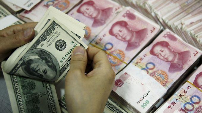 Chinas Yuan ist nicht frei handelbar.