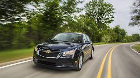 """Chevrolet bietet als einziger der """"Big Three"""" mit der Mittelklasse-Limousine Cruze einen Diesel im Pkw-Segment an."""