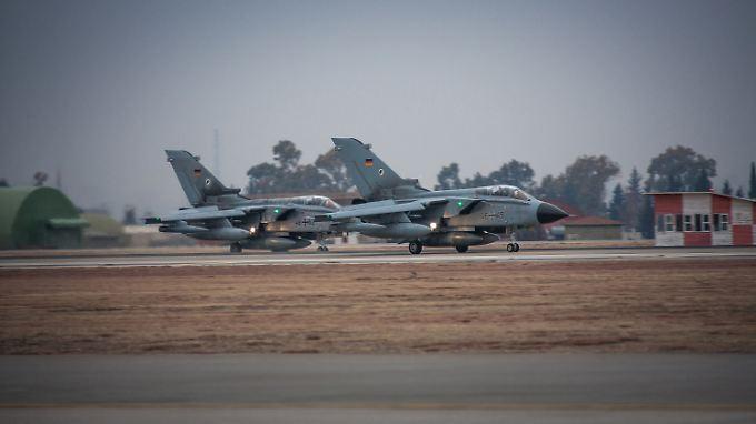 Sollen die im Kampf gegen den IS eingesetzten Tornados aus der Türkei abgezogen werden?