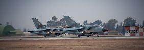 Bundeswehr-Tornados in Incirlik.
