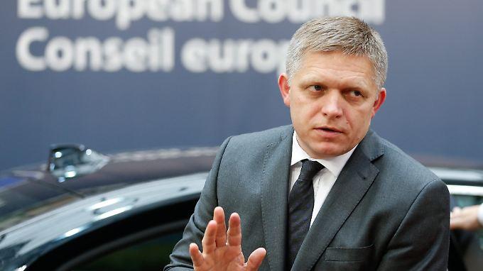 Die Äußerungen vom slowakischen Ministerpräsident Robert Fico sorgen in Deutschland für Kritik.