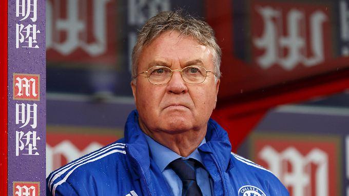 Guus Hiddink will nur Interimscoach von Chelsea sein.