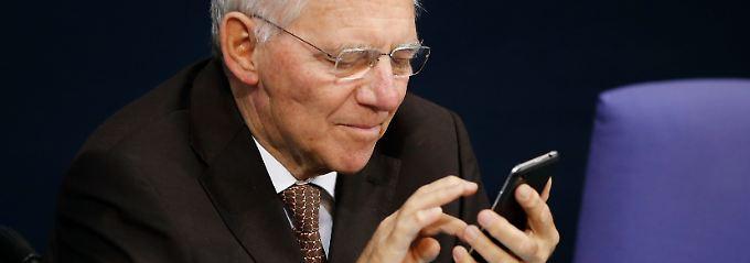 Wirtschaftskraft, gepaart mit einer vorsichtigen Finanzpolitik: Das wird Bundesfinanzminister Wolfgang Schäuble gerne lesen.
