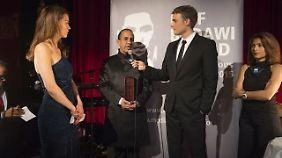 """Die Verleihung der ersten """"Raif Badawi Auszeichnung für mutige Journalisten"""""""