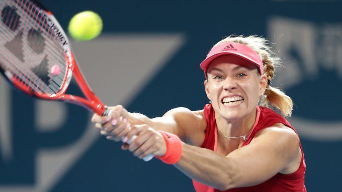 Angelique Kerber konnte ihre Niederlagenserie gegen Viktoria Asarenka nicht beenden.