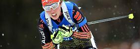 Biathlon-Herren schwächeln: Laura Dahlmeier siegt in der Verfolgung