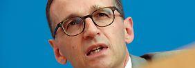 Video: Justizminister Maas: Silvester-Angriffe auf Frauen waren organisiert