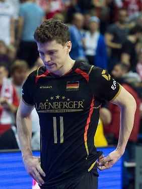 """""""In Rio wird es kaum ein Spiel geben, das auf einem solch hohen Niveau stattfindet, wie wir es hier in Berlin gegen die Polen gezeigt haben"""": Lukas Kampa."""