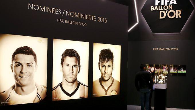 Helden des Fußball-Jahres 2015: Das sind die Anwärter auf den Ballon d'Or