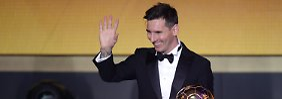 Cristiano Ronaldo chancenlos: Messi regiert wieder als Weltfußballer