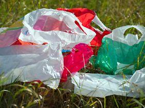 Der Naturschutzbund Nabu hatte im Herbst einen Preis von mindestens 50 Cent pro Einwegtasche gefordert.
