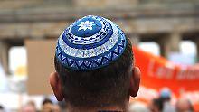 """""""Wachsende Bedrohung"""": Deutsche Juden sorgen sich um Sicherheit"""
