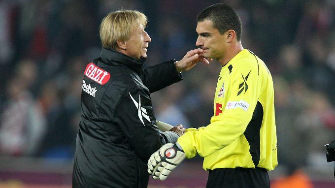 Faryd Mondragon stand unter Christoph Daum auch für den 1. FC Köln im Tor.