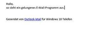 Outlook ist nicht nur optisch gelungen.