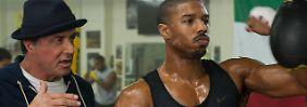 """Das perfekte Team: Rocky Balboa und sein Schützling Adonis """"Creed"""" Johnson"""