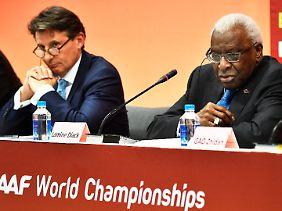 Unter Lamine Diack war Coe lange Jahre Vize-Präsident in der IAAF - und völlig ahnungslos.