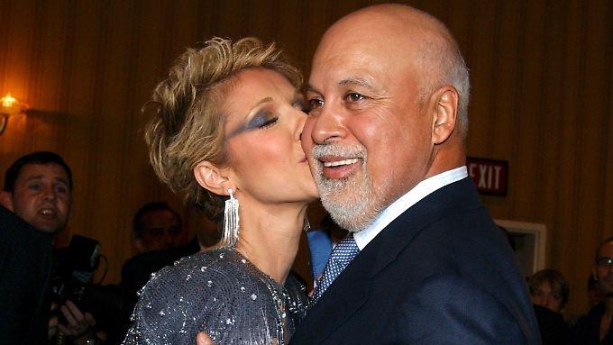 Sie waren ein Herz und eine Seele: Céline Dion und René Angélil.
