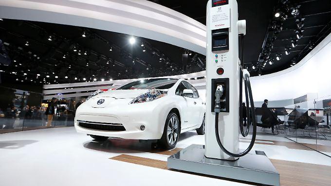 Auf der Detroit Auto Show präsentieren zahlreiche Autohersteller ihre Elektromodelle.