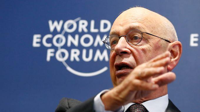 WEF-Gründer Klaus Schwab.