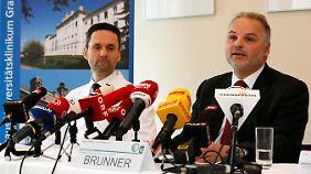 Die Diagnose des Ärzteteams der Uniklinik Graz ist für Müller niederschmetternd. Es besteht aber Hoffnung, dass die Lähmung wieder abklingt.