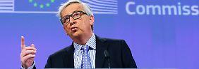 Schäuble will Koalition der Willigen: Juncker: Schengen und Euro sind in Gefahr