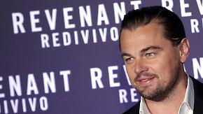 Promi-News des Tages: Leonardo DiCaprio schleppt gleich vier Frauen auf einmal ab