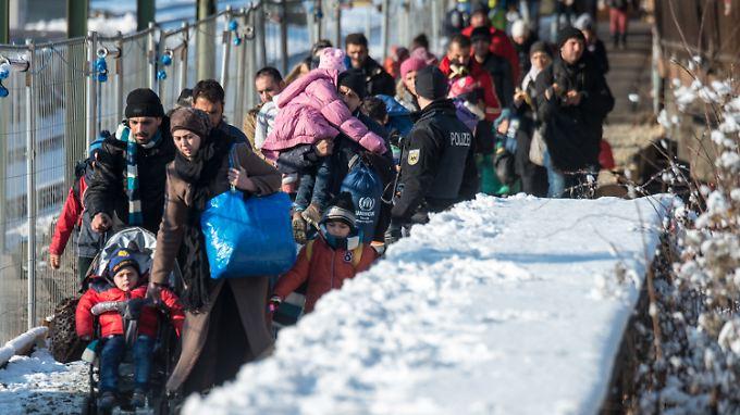 Zuletzt trafen immer mehr Flüchtlinge aus Algerien und Marokko ein.