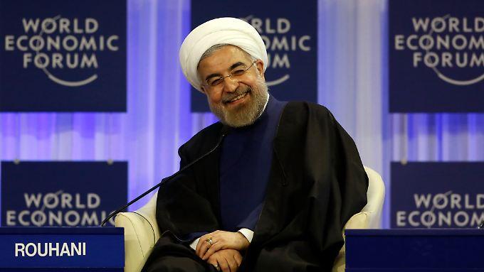 Wenn umstrittene Staatschefs, wie Hassan Ruhani aus dem Iran, auf dem WEF auftauchen, wird es interessant.