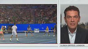 """Ulrich Oppold zum Tennis-Skandal: """"Es wird spekuliert, dass Spieler erpresst worden sind"""""""
