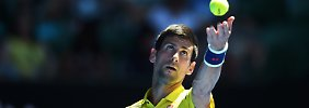 """""""Natürlich sind wir nicht darauf eingegangen"""": Novak Djokovic."""
