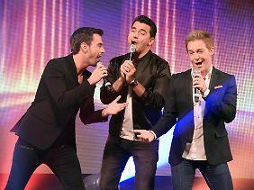 """Klubbb3 - """"drei Typen, die 100 Prozent Schlager singen""""."""