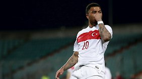 Colin Kazim-Richards spielt auch im Trikot der türkischen Nationalmannschaft.