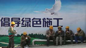 Wirtschaft im Umbruch: Chinas Wachstum schwächt sich immer weiter ab