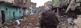 Im Viertel Sur der Metropole Diyarbakir gibt es nach den monatelangen Kämpfen starke Zerstörungen.